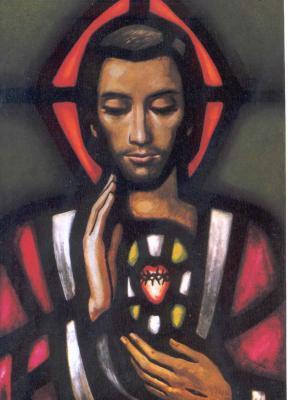 Juny, mes del  Sagrat Cor de Jesús
